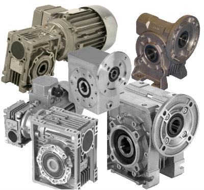 Schneckengetriebe & Motoren