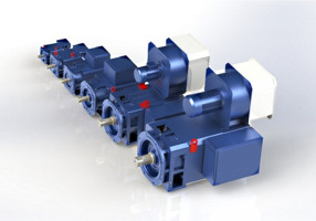 IP54 Hochleistungsmotoren