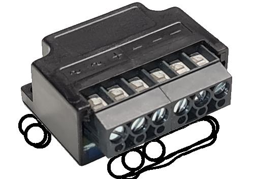 GB500AC1000S-L Brückengleichrichter im weissem Gehäuse - Restposten