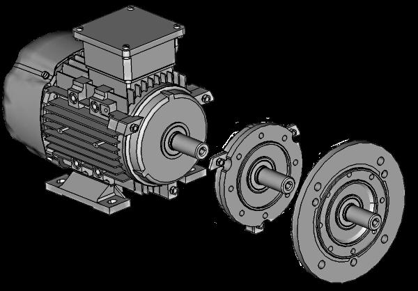 IE2 071 A 4 0,25 3AC-ASYNCHRON-MOTOR