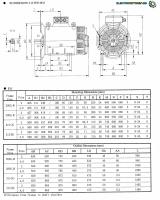 IE3 IP23 315 LA-2 3AC-ASYNCHRON-MOTOR