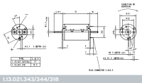 1.13.021.343-12V DC-Kleinmotor