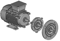 IE2 071 B 6 0,25 3AC-ASYNCHRON-MOTOR