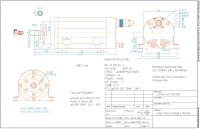 LSF40B-42/1.10 (ER11) High-Speed-Asynchron-Motor 3AC,...