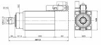 HM120X-170 P-00 Y616112015 ER40 380V 13,50KW 12/18000...
