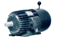 071 B 2 B3 0,55 kW Drehstrom-Asynchronmotor m. Käfigläufer, mit Drehstrombremse (Restposten)