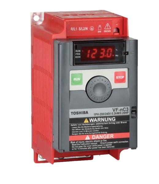NANO VF-nC3S 2002PL Frequenzumrichter 0,25 kW - 230V