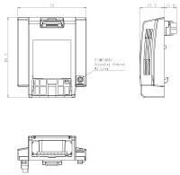 SBP009Z Steckplatz für Kommunikationsoptionen (S15)