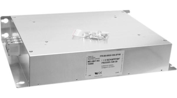 FFR-RS-22k-65A-EF100 Funkentstörfilter für FR-A741-18,5k bis 22k; C1 20m; C2 100m