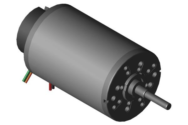 Encoder ME 52-12 RR, 12 ppr, 4,5-24 V, 2 Kanäle (Magnetic Pulse) open collector + pullup, 2 Rechteck, 90°