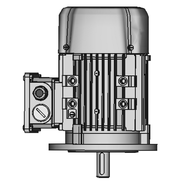 IM 3011/V1 FF100 (A120) Flansch mit Schutzdach